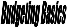 Thumbnail Budgeting Basics