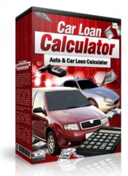 Product picture Car Loan Calculator with Master Resell Rights