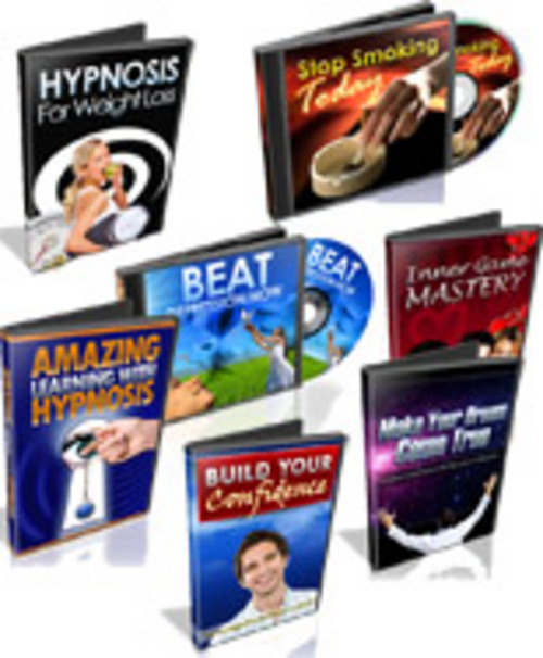 Product picture Eight Hypnosis Tracks with PLR