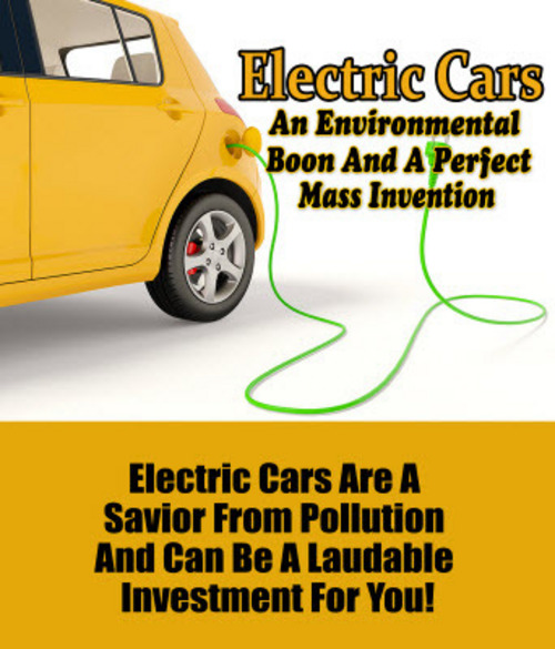 Product picture Electric Cars MRR Ebook & Audio Package