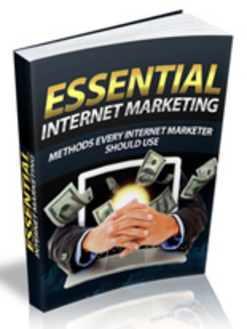 Product picture Essential Internet Marketing with MRR