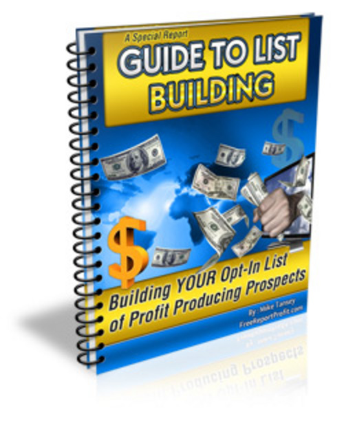 Product picture Guide to List Building with MRR