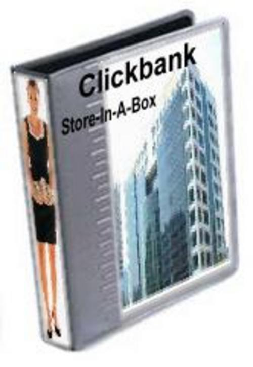 Product picture Instant Clickbank Store With Master Resell Rights