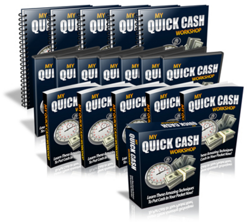 Product picture My Quick Cash Workshop Videos