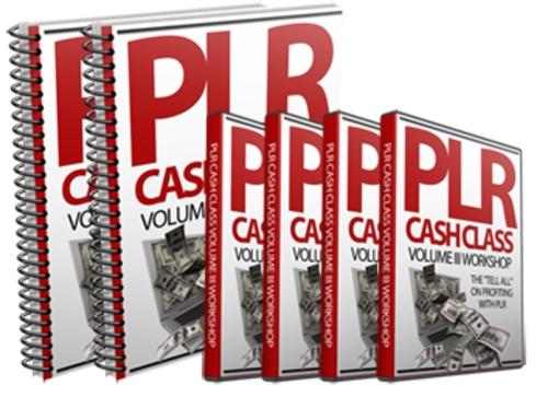 Product picture PLR Cash Class - Volume 3 Videos